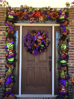 Decomesh Door Garland All Things Amore